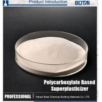 Buy cheap High Slump and water reducing concrete admixtures of Polycarboxylic superplasticizer from wholesalers