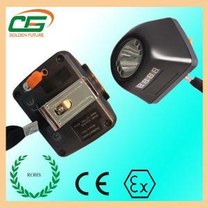 Portable 1 Watt 120 Lumens LED Mining Light Headlamp MSHA For Mineral Industry