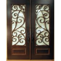 Buy cheap Wrought Iron Door from wholesalers