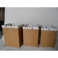 Buy cheap laundry basket with lid and liner from wholesalers