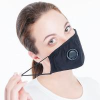 Buy cheap Fashion Design Cotton Face Mask N95 Pollution Mask With Breathing Valve from wholesalers
