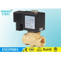 Buy cheap Normal Opened Solenoid Control Valve Fast Respond FKM Seal For Air Compressor from wholesalers