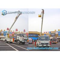 Buy cheap 16M SINOTRUK HOWO High Altitude Operation Truck Cage Boom Truck Rental from wholesalers