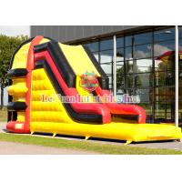 Buy cheap Colorful Printing Logo Inflatable Sport Games Spider Tower Slide For Kids from wholesalers