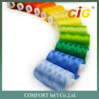 Buy cheap ISO Garments Accessories 100% Spun Polyester Sewing Thread 40s/2 400 yds - 1000 yds from wholesalers