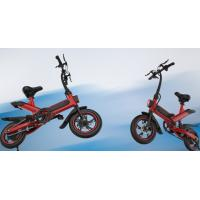Quality lithium Battery Folding Travel Bike High Speed 350W Brushless Motor 120KG Load for sale