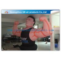 Buy cheap Air Man Inflatable Muscle Man Model Advertising Strong For Party , Club product