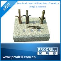 Buy cheap Stone Splitters Wedges Splitting Stone from wholesalers