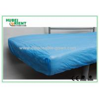 China Breathable CPE  Disposable Bed Protectors Hospital Bedding Sheets on sale