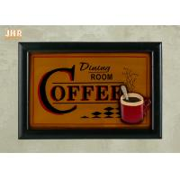 Buy cheap Coffee House Wall Decor Antique Wooden Wall Signs Decorative Wall Plaques Home Decor from wholesalers