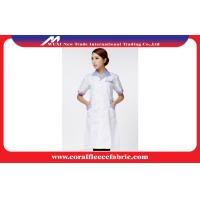 Buy cheap White Custom Doctors Lab Coat Wholesale / Nurses Hospital Uniform for Women from wholesalers