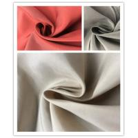 Plain Coated Soft Nylon Fabric , 45%N 55%P Lightweight Outdoor Nylon Fabric