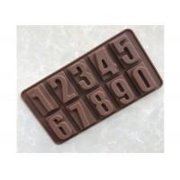 Buy cheap High Safety Chocolate Candy Molds Arabic Numbers Shaped For DIY SCHM-022 from wholesalers