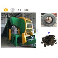 China New design high capacity waste tyre shredder machine manufacturer with CE on sale