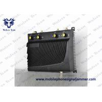 Quality Circuit Protection Cell Phone Frequency Jammer , Mobile Phone Jamming Device 40 Meters Range for sale