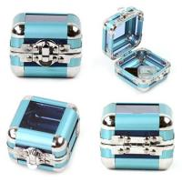 Buy cheap Elegant Design Jewelry Train Case , Jewelry Carrying Case For Travel from wholesalers