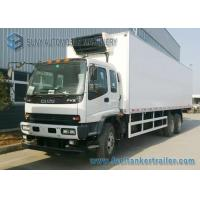 Buy cheap 25 T ISUZU 6x4 refrigerated truck transportation Original Japan Import Engine 360 HP from wholesalers