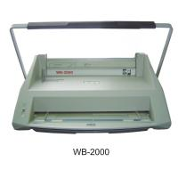 Buy cheap 12 - Pins Handle Electric Binding Machine For Velo Binding Strip WB-2000 from wholesalers