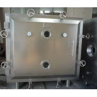 Buy cheap Low Temperature  Vacuum Chamber Dryer , Indoor Static Tray Drying Oven from wholesalers