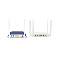 Buy cheap Universal 2GE POTS WIFI Dual Band FTTH ONU 802.11 AC 4T4R Support GPON EPON Self Adaptive from wholesalers