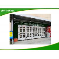 Buy cheap Automated Refrigerator Large Fresh Food Vending Machine Rental With Doors from wholesalers
