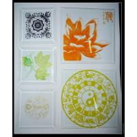 Buy cheap Screen Printed Glass Decorative Glass modern design interior design from wholesalers