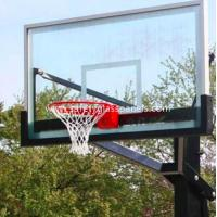 Buy cheap Ultra Clear 15mm Outdoor Tempered Glass Composite Basketball Backboard from wholesalers