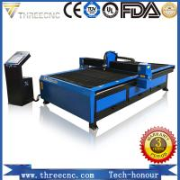 Buy cheap China OEM manufacturer plasma cutting machine price TP2030-105A with Hypertherm plasma power supplier. THREECNC from wholesalers