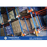 Buy cheap Massive Storage Blue Radio Shuttle Racking System For Industrial Warehouse from wholesalers