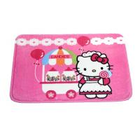 Buy cheap Pink Hello Kitty Polyester Water Absorbing Rugs padded play mat for Kids from wholesalers