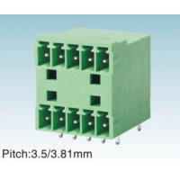Buy cheap IEC61984 Green 3.81MM Pitch Plug In Terminal Block For PCB , Female / Male from wholesalers