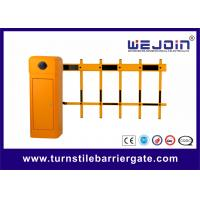 Buy cheap Two Fence Boom Automatic Traffic Barriers , Car Park Barrier Gate with Arms product
