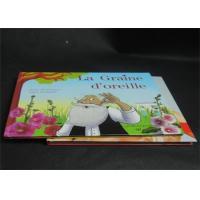Landscape Hardcover Magazine Book Printing Services Grey Board CMYK / Pantone Color