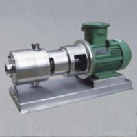 Buy cheap 3-stage High Shearing Rate Emulsifying Pump/ Mixer/homogenizer from wholesalers