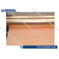 Buy cheap High bending resistance PCB Copper Foil for Flexible Copper Clad Laminate from wholesalers