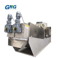 Buy cheap Slurry Screw Sludge Dewatering Machine / Volute Filter Press Water Treatment Dyeing from wholesalers