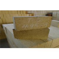 High Temp Insulation High Alumina Refractory Brick For Glass / Cement Rotary Kiln