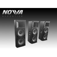Buy cheap Powered Conference Hall Sound System 37 Hz-20 KHz With Birch Plywood from wholesalers