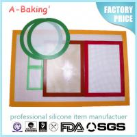 China Kitchen accessories/colorful silicone kitchen mat /BBQ FDA mat/oven liner/baking sheet wit on sale