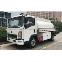 Buy cheap Brand New 3000 Liters SINOTRUCK Light Tank Truck from wholesalers