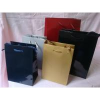 Buy cheap paper bag with 1pms color printing with lamination, various colors and sizes are available from wholesalers