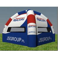 Buy cheap Colorful 0.45mm PVC Tarpaulin Inflatable Party Tent In Spider Legs For Sport product