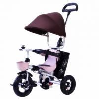 Buy cheap foldable baby 3 wheel trike car / metal frame child trike for sale from wholesalers