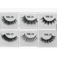 Buy cheap Long Natural False Eyelashes 100% Real Strip Mink Fur Eyelash Extension from wholesalers