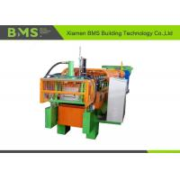 Buy cheap Durable Steel Wall Panel Roll Forming Machine Cr 12Mov Cutting Blade Material from wholesalers