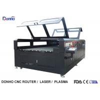 Buy cheap Double Protective Cover Co2 Laser Cutting Machine For Fabric / Crystal / Acrylic / Wood from wholesalers