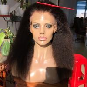 China elastic band brazilian hair glueless long hair china sex woman wig full swiss lace wigs human hair kinky straight full lace wig on sale