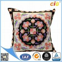 Buy cheap Faux Fur / Polyester Multi Color Square Decorative Throw Pillow Covers for Couch / Bed / Sofa from wholesalers