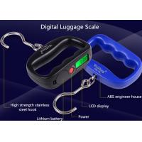 Buy cheap High Strength Belt Digital Luggage Weighing Scale With Value Lock Function from wholesalers