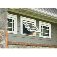 Buy cheap Sound Proof Aluminium Awning Double Glazed Windows Black / White / Green product